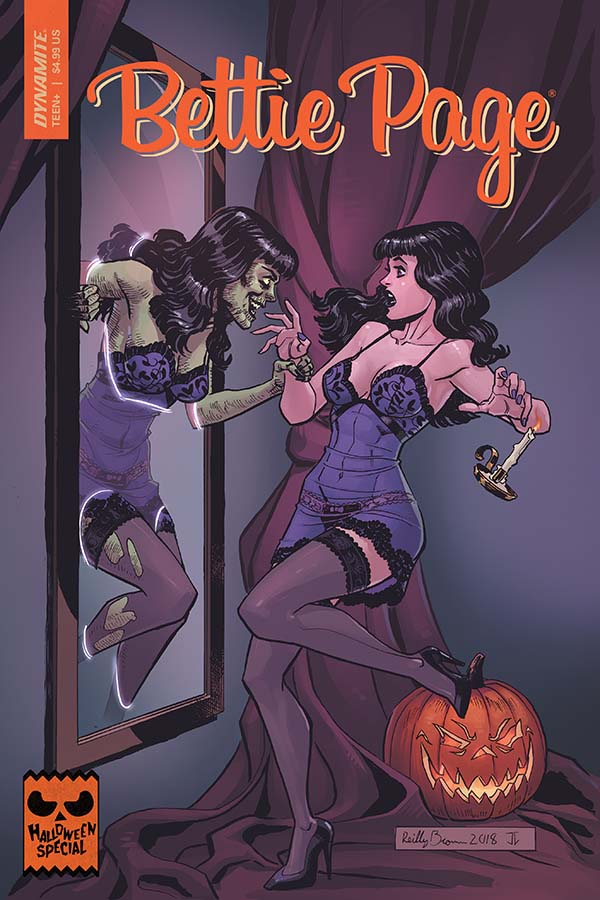 Comic Crypt: Bettie Page Halloween Special One-Shot Preview!